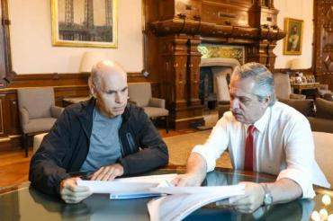 Cuarentena en el AMBA: Alberto Fernández y Rodríguez Larreta analizaron su cumplimiento