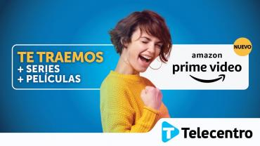 TELECENTRO agrega la aplicación de AMAZON PRIME VIDEO a sus dispositivos