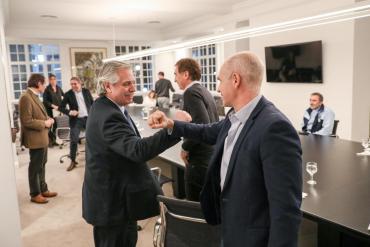 Alberto Fernández y Rodríguez Larreta, reunidos en la Quinta de Olivos por situación de cuarentena en AMBA