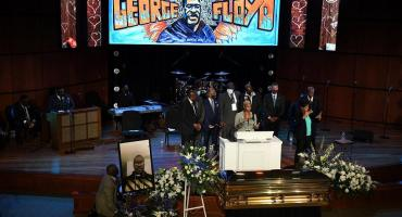 Multitudinario y conmovedor primer funeral de George Floyd en Minneapolis