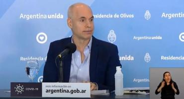 Rodríguez Larreta sobre la cuarentena extendida: