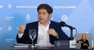 Provincia de Buenos Aires: crece curva de contagios, sigue aislamiento con sistema de fases