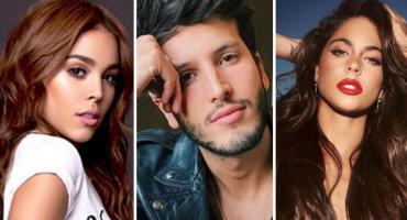 Danna Paola aclaró su situación sentimental tras ser señalada la tercera en discordia entre Sebastián Yatra y Tini