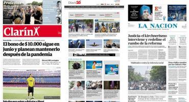 Tapas de diarios argentinos: comenzó el programa detectar en los barrios porteños
