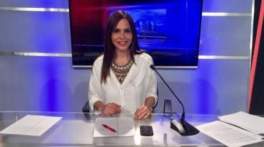 Una mujer intentó acuchillar a la periodista de Canal 26, Melisa Zurita, frente a su hija