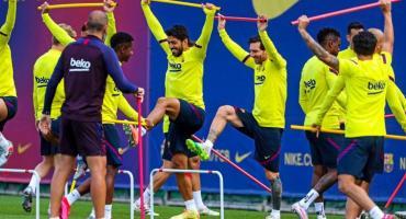 Sonríe Barcelona: Messi se entrenó con el grupo y se perfila para ser titular ante Mallorca
