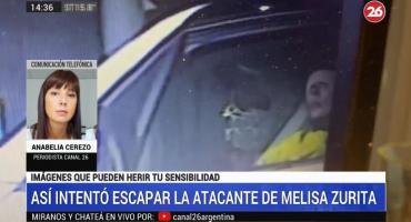 Ataque a Melisa Zurita: así detuvieron a la agresora cuando trataba de huír