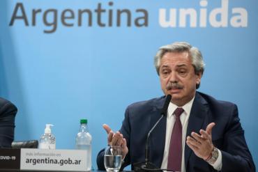 Alberto Fernández sobre expropiación de Vicentin: