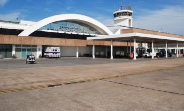 El aeropuerto de Rosario, con