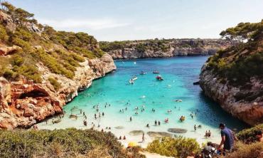 Las Islas Baleares se abren al turismo: llegan 10.000 alemanes en un plan de recuperación