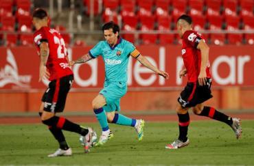 Volvió la magia de Messi: Barcelona derrotó al Mallorca con dos asistencias y un gol del argentino
