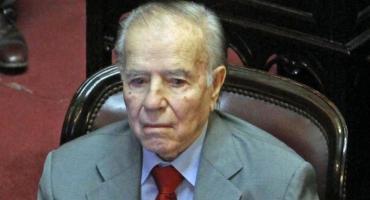 Carlos Menem se sometió a estudios médicos luego de recibir alta por neumonía