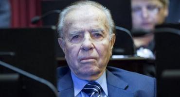 Carlos Menem internado con neumonía: dio negativo a primer hisopado por coronavirus