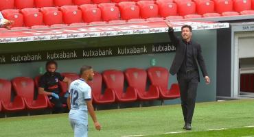 El Atlético Madrid de Simeone empató con Bilbao y complicó su pase a Champions