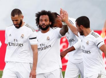 El Real Madrid venció al Eibar y no le pierde pisada al Barcelona de Messi en La Liga
