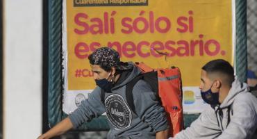 Coronavirus en Argentina: nueve nuevas muertes, hay 842 víctimas fatales y 9.891 recuperados