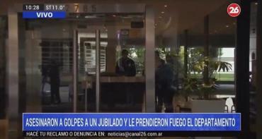 Detienen a principal sospechoso por crimen de jubilado en Palermo: estaba a punto de fugarse