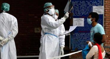 India se convierte en el tercer país con mayor cantidad de casos de coronavirus