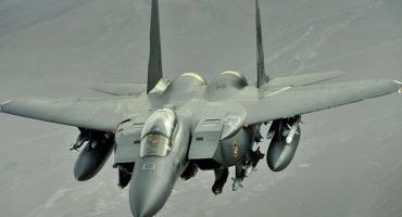 Avión de caza del ejército estadounidense se estrelló en el Mar del Norte, hallaron el cuerpo del piloto