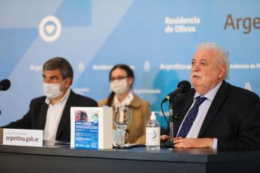 Ginés González se reúne con Daniel Gollán y Fernán Quirós para