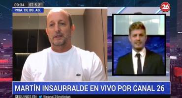 Martín Insaurralde superó el coronavirus: