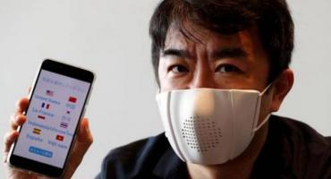 Coronavirus: empresa japonesa creó un barbijo que se sincroniza con teléfonos celulares