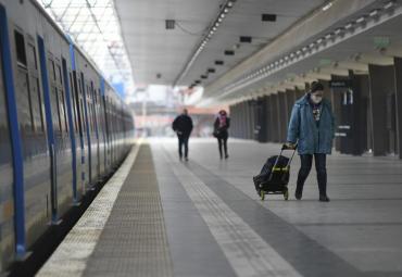 Volvió a suspenderse el servicio de trenes en la línea Sarmiento por casos de Coronavirus
