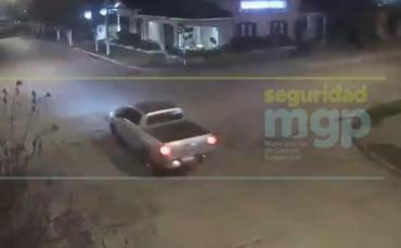 VIDEO: robo de camioneta en Mar del Plata que terminó con allanamiento a un empresario