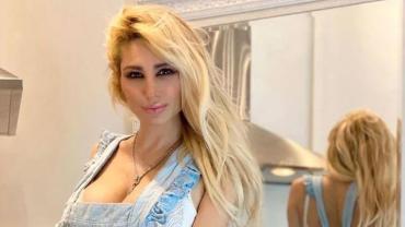 Vicky Xipolitakis, cocinera hot: prendió fuego Instagram, con poca ropa en la cocina
