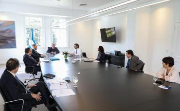 En medio de la cuarentena, Alberto Fernández analizó las medidas con el gabinete económico