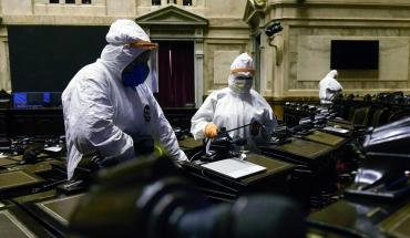 Por nuevo caso de coronavirus, suspenden las sesiones presenciales en Diputados