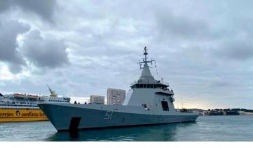 Un inspector dio positivo de coronavirus en un buque de la Armada en Mar del Plata