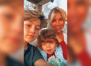 Flor Peña y el tierno video con su hijo menor: