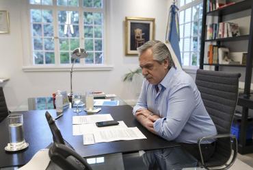 El Presidente Alberto Fernández participa este jueves de la cumbre virtual del Mercosur