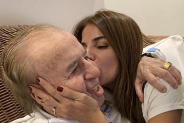 Carlos Menem fue dado de alta y ya está en su casa