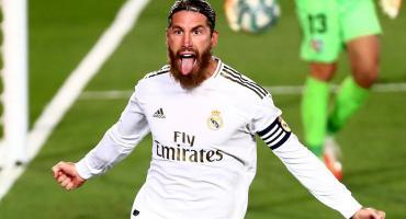 LA LIGA de España: Real Madrid venció al Getafe con gol de penal de Sergio Ramos y sigue arriba