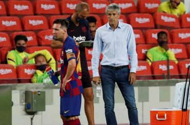 Quique Setién sube la presión en Barcelona:
