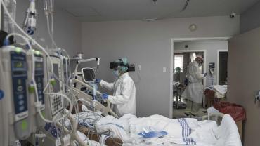 Coronavirus en el AMBA: hay casi un 60% de ocupación de camas de terapia intensiva