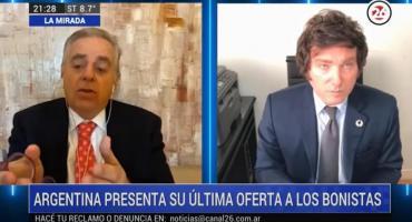 Javier Milei sobre la economía Argentina: