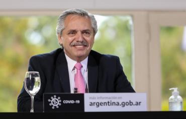 Alberto Fernández participa de forma virtual del acto por el Día de la Independencia