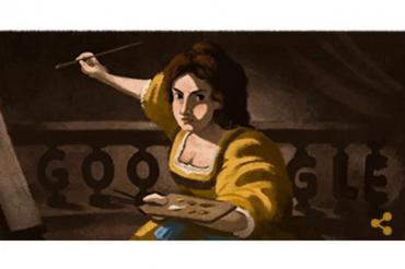 ¿Quién fue Artemisia Gentileschi, protagonista del Doodle de Google y una feminista del arte?