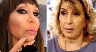 """Georgina Barbarossa renunció al """"Cantando"""" tras confirmar a Moria Casán como jurado: su palabra"""
