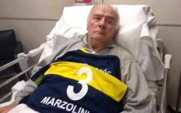 Sigue grave Silvio Marzolini, leyenda y gloria de Boca Juniors