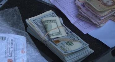 Detienen a cadete con 20 mil dólares en efectivo que no pudo justificar