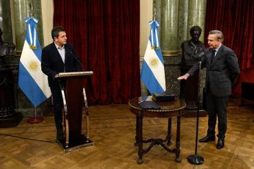 Pichetto prestó juramento en diputados y asumió como miembro de la AGN