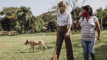 La Primera Dama Fabiola Yáñez impulsa la campaña por los derechos de las