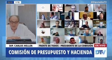 PRESUPUESTO: Diputados postergó para este jueves la firma del dictamen sobre ampliación, en busca de consensos