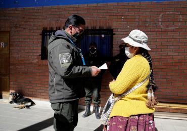 Bolivia espera un 85% de la población afectada por el coronavirus y ya hablan de