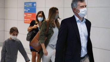 Macri llegó a Francia:
