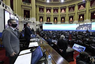 Diputados aprobó por amplia mayoría el proyecto de ampliación presupuestaria